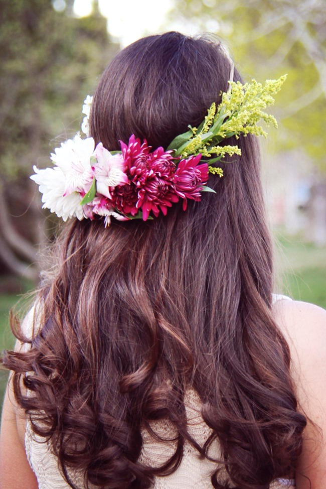 How to make a flower crown - The Pretty Blog