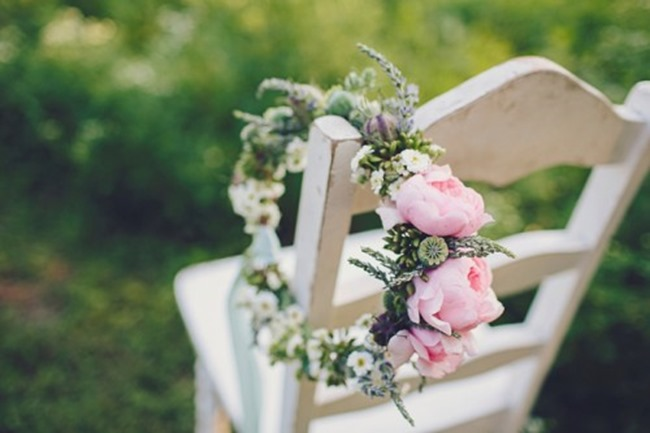 How to make a flower crown - handmade goodness from Design Sponge