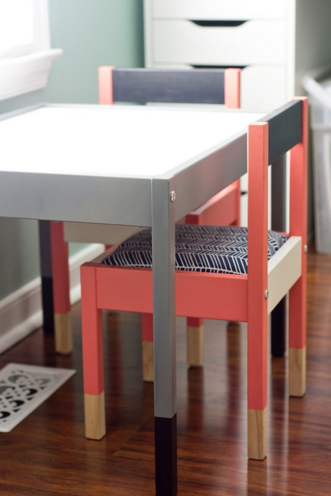 Ikea Hack - Colorful Desk