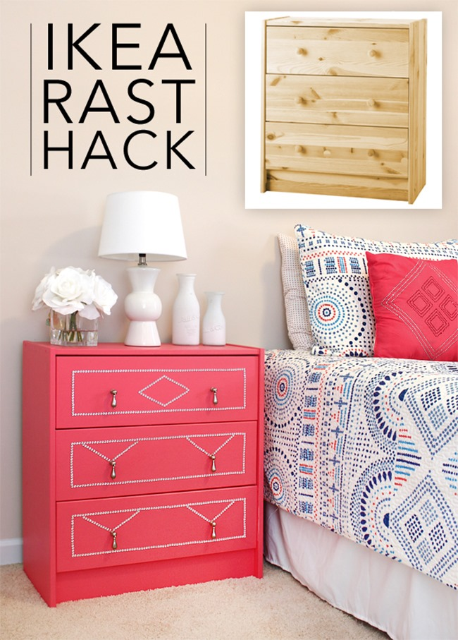 Ikea Hack - Colorful Rast DIY