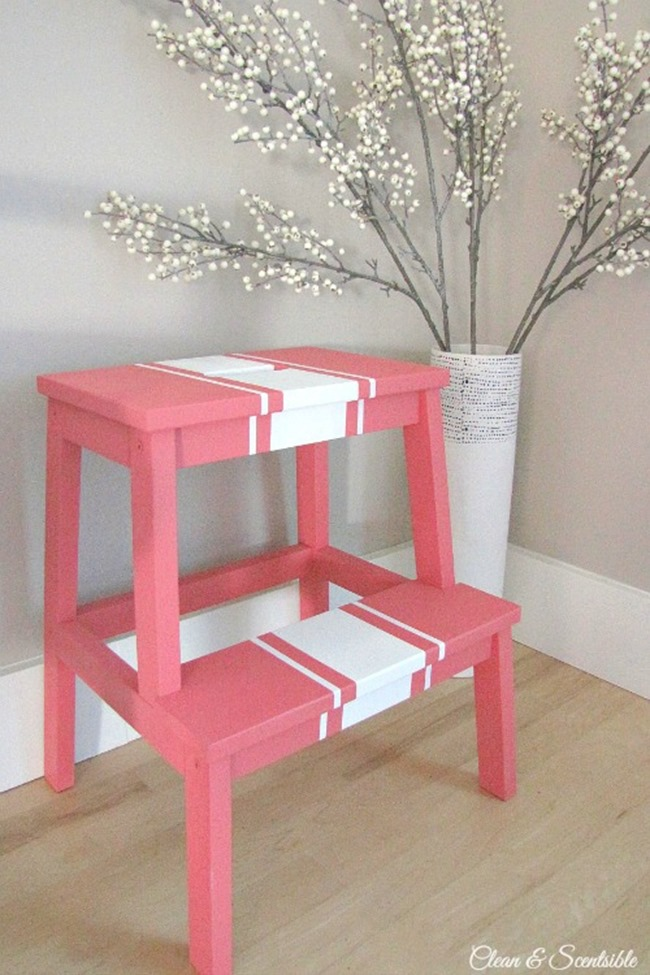 Ikea Hack - Colorful Stool DIY