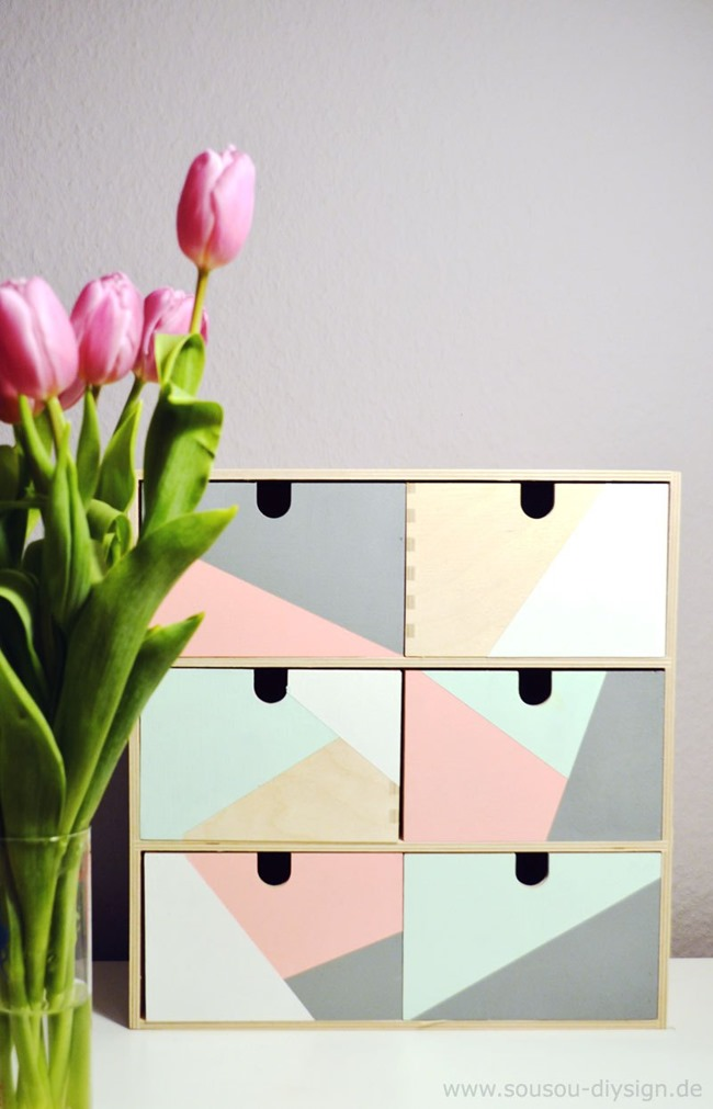 Ikea Hack - Colorful Storage Inspiration