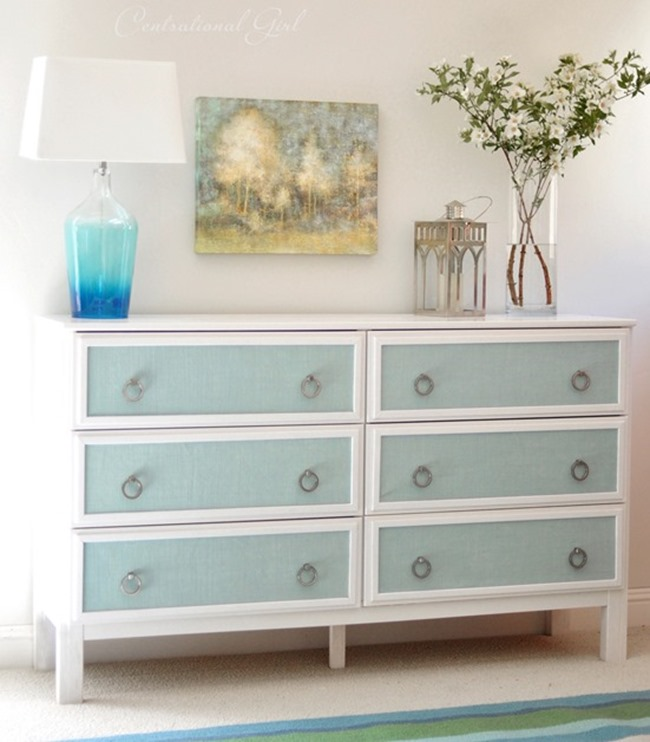 Ikea Hack - Textured Finish - DIY by Centsational Girl