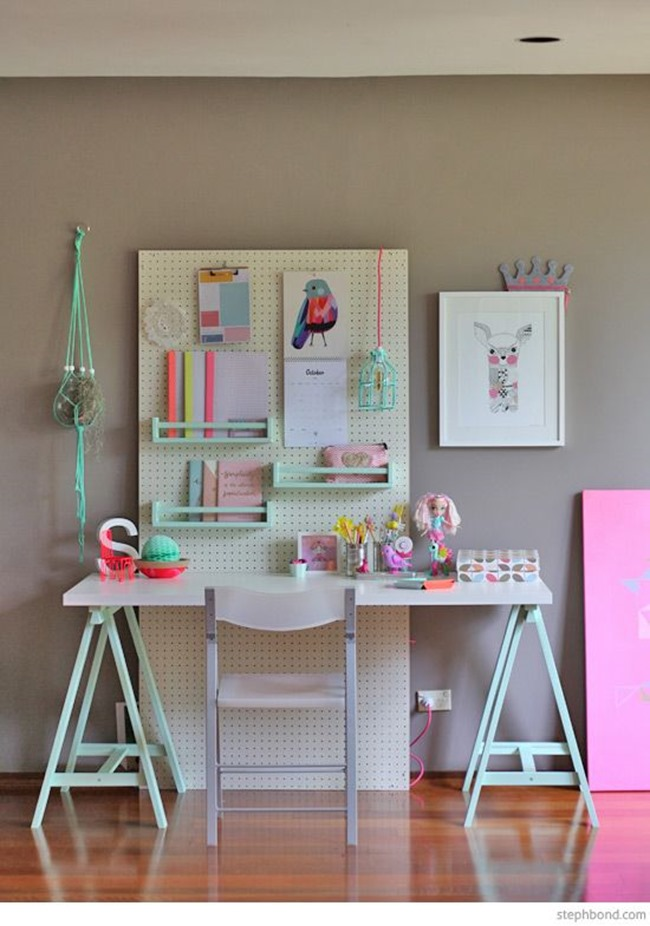 Ikea Hack - Workspace for Kids Inspiration