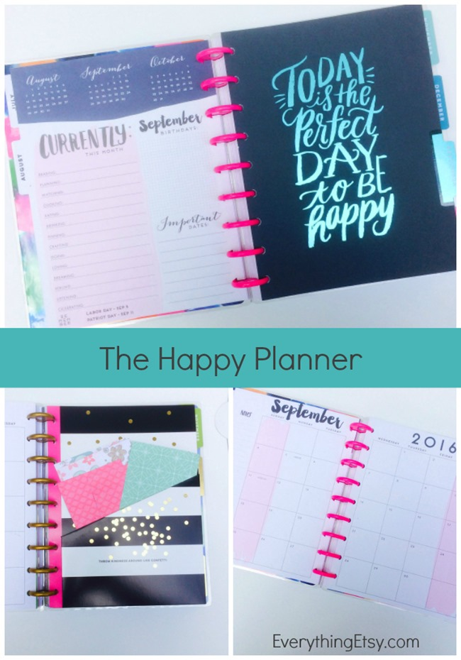 Inside The Happy Planner on EverythingEtsy.com