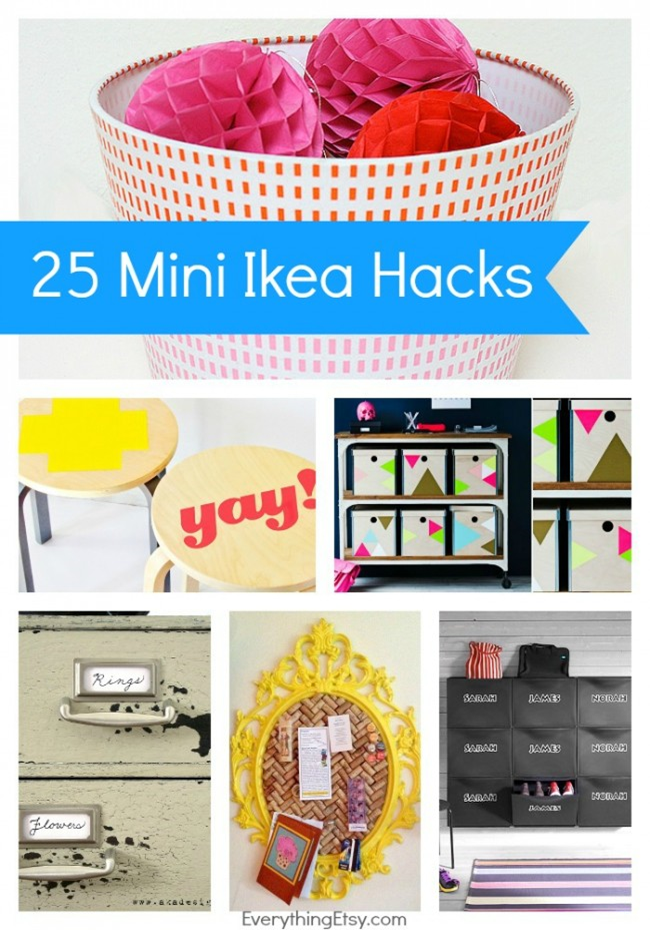 Mini Ikea Hacks that are big on style - EverythingEtsy