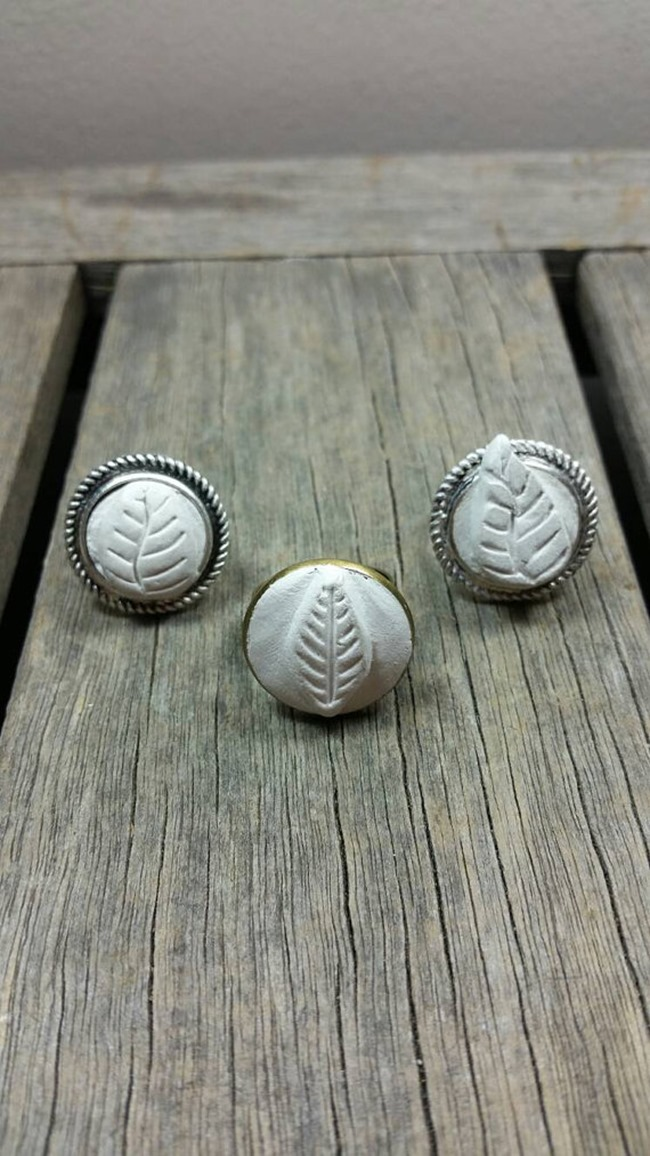 essential oil jewelry - diffuser rings