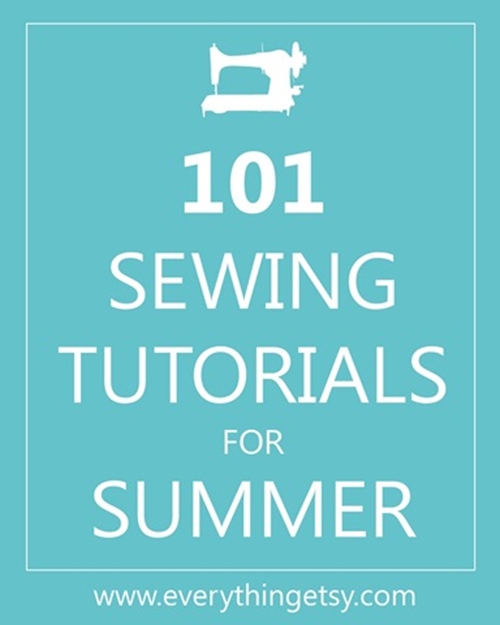 101 DIY Sewing Patterns for Summer - EverythingEtsy