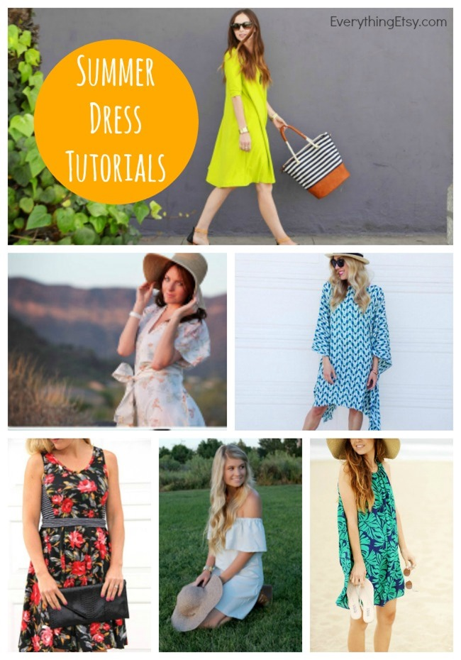 12 Summer Dress Patterns - Free Tutorials - EverythingEtsy.com