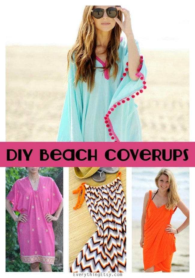 DIY Summer Beach Coverup Sewing Patterns - Free