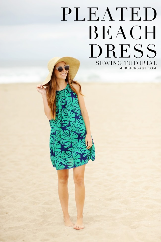 Summer Dress Pattern - Beach dress tutorial