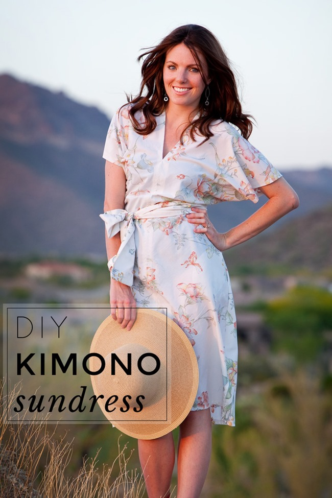 Summer Dress Pattern - DIY Kimono