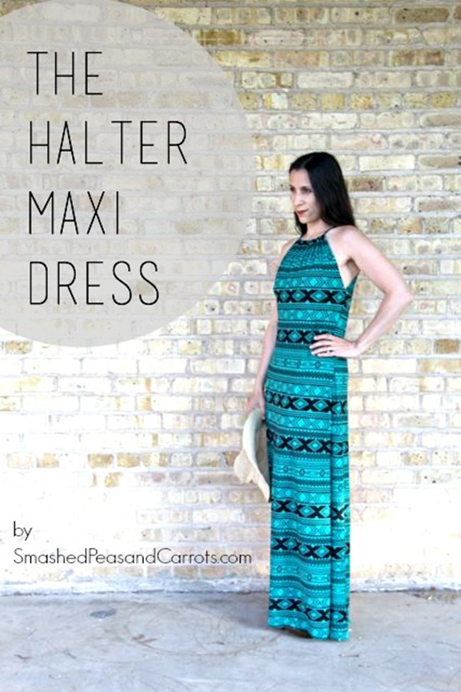 Summer Dress Pattern - Maxi Dress