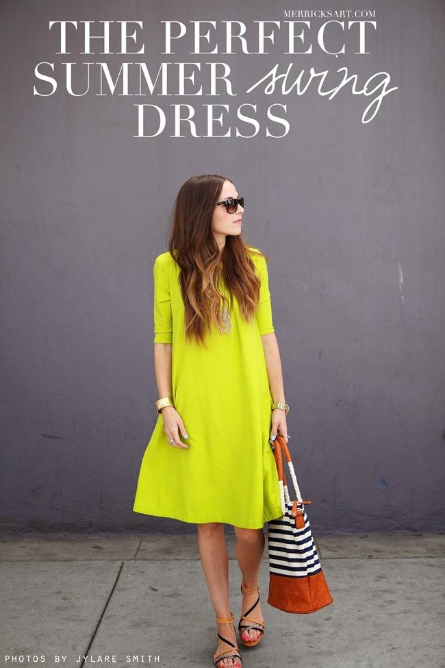 Summer Dress Pattern - Merrick's Art