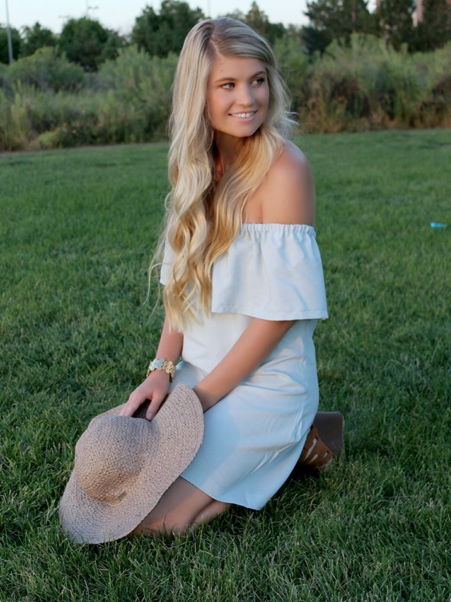 Summer Dress Pattern - Ruffled - Off the shoulder