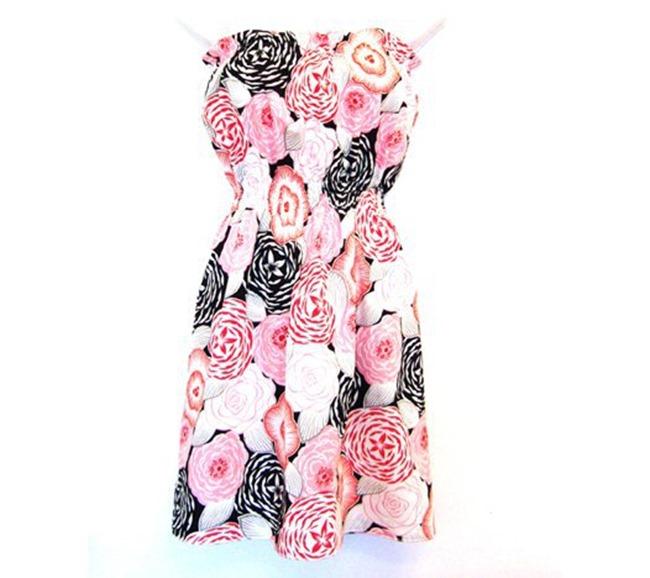 Summer Dress Pattern - no straps