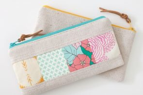 21 Zipper Bag Sewing Tutorials–Cute & Easy Patterns!