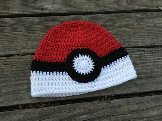 Pokemon Go Gift Ideas on Etsy - Crochet Hat