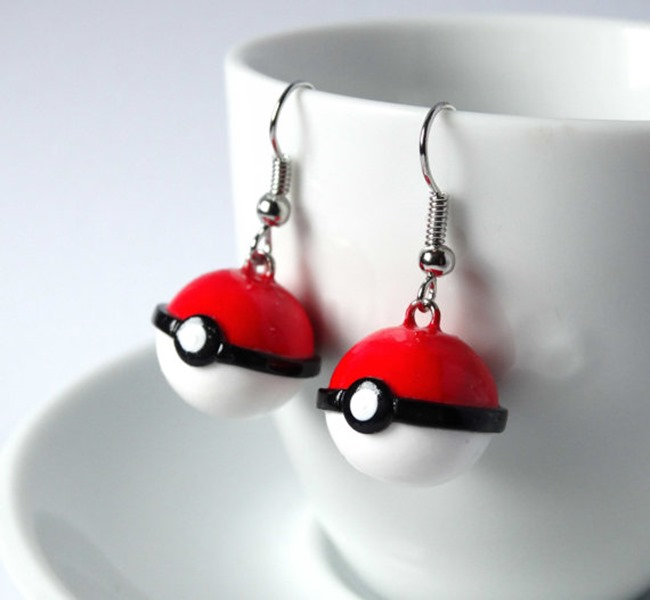 Pokemon Go Gift Ideas on Etsy - Earrings