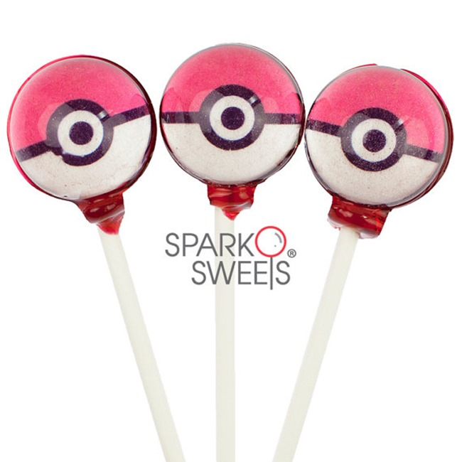 Pokemon Go Gift Ideas on Etsy - Lollipops
