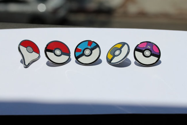 Pokemon Go Gift Ideas on Etsy - Map Pin Set