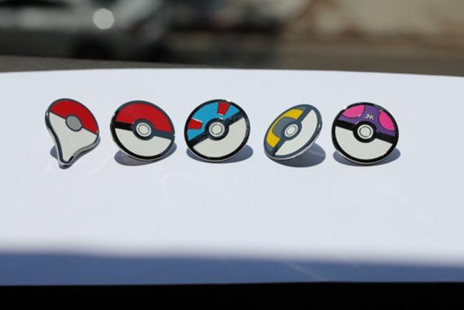 Pokemon Go Gift Ideas on Etsy - Map Pin Set