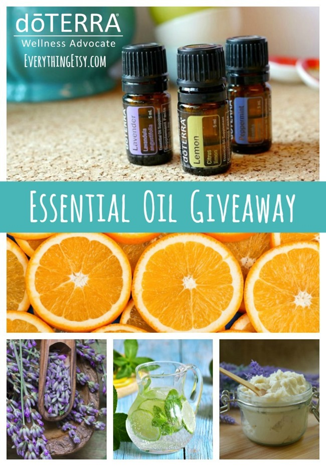 doTERRA Essential Oil Giveaway on EverythingEtsy.com