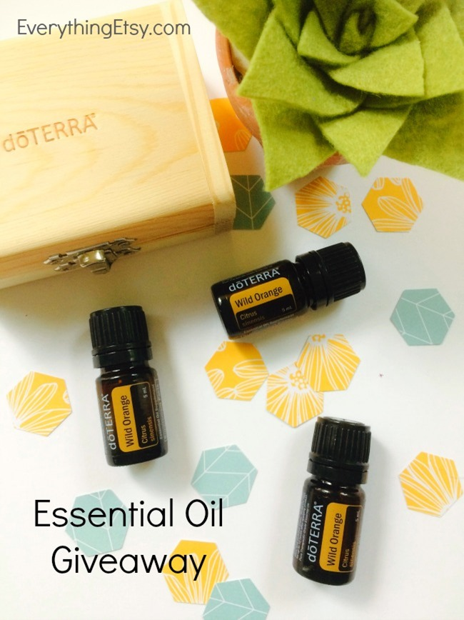 doTERRA Essential Oil - Wild Orange Information and Giveaway on EverythingEtsy.com