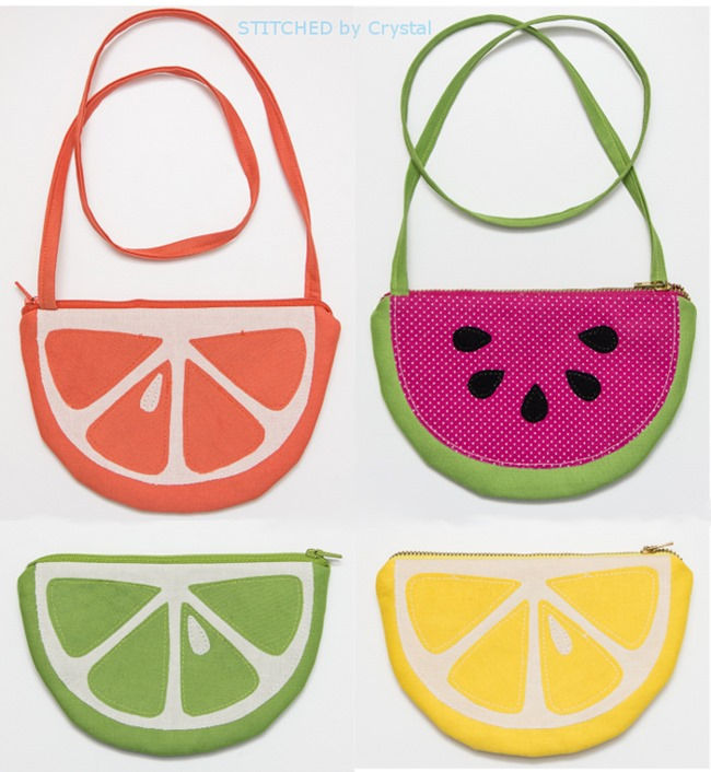 zipper fruit pouch pattern