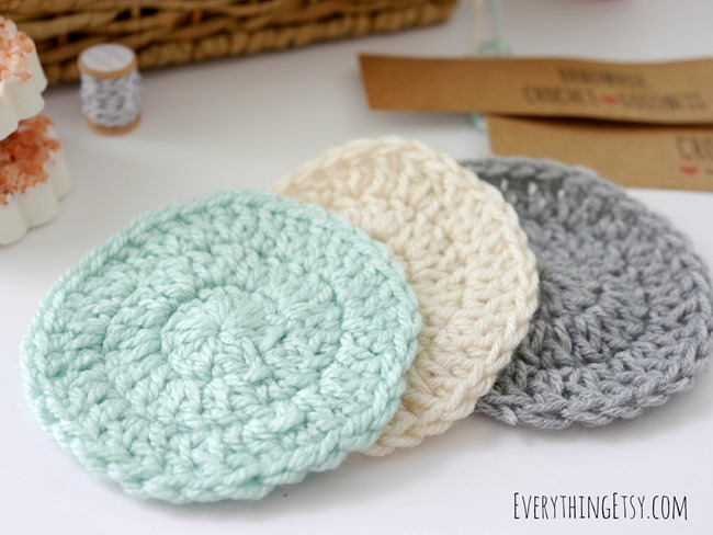 DIY Crochet Washcloths on EverythingEtsy.com
