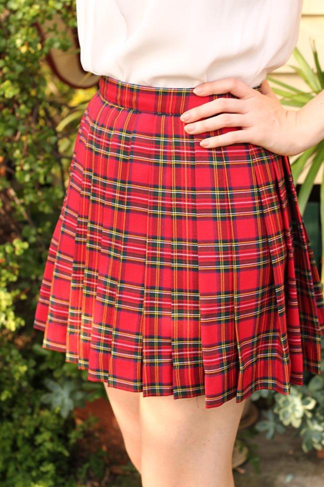Fall Skirt Tutorials - Classic Plaid