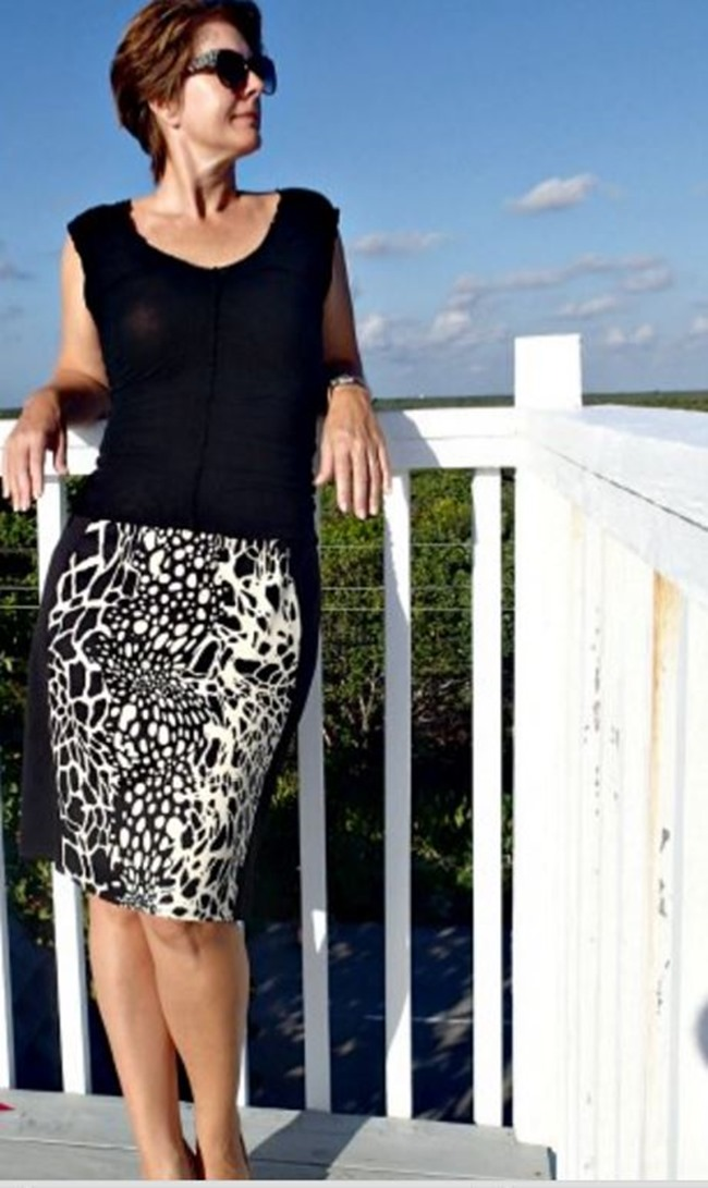 Fall Skirt Tutorials - Color Block Skirt Pattern