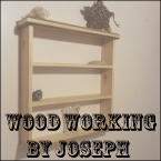 Wooden by Joseph on Etsy - sawdust everywhere