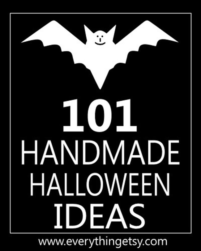 101 Handmade Halloween Ideas on EverythingEtsy