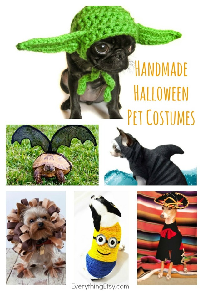 7 Handmade Halloween Pet Costumes You'll Love! {Etsy Love} on EverythingEtsy.com
