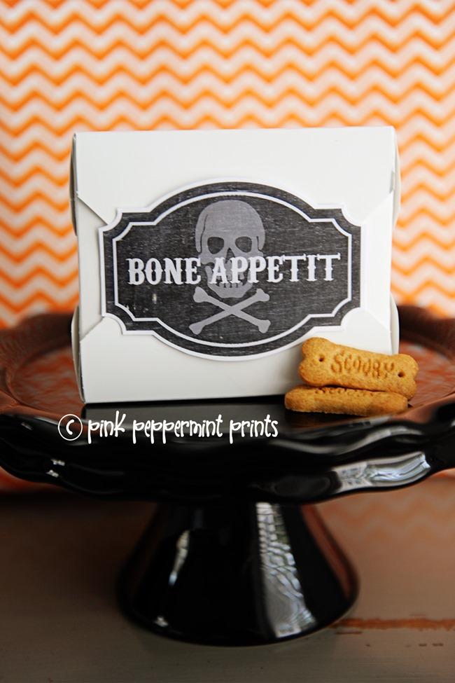 Halloween Printables - Bones