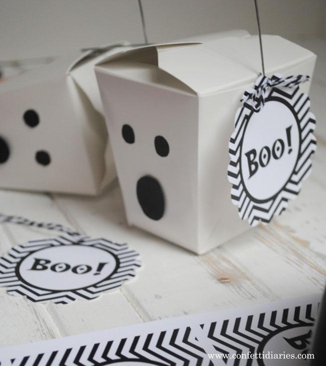 Halloween Printables - Boo