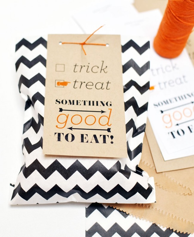 Halloween Printables - Goodie Bag