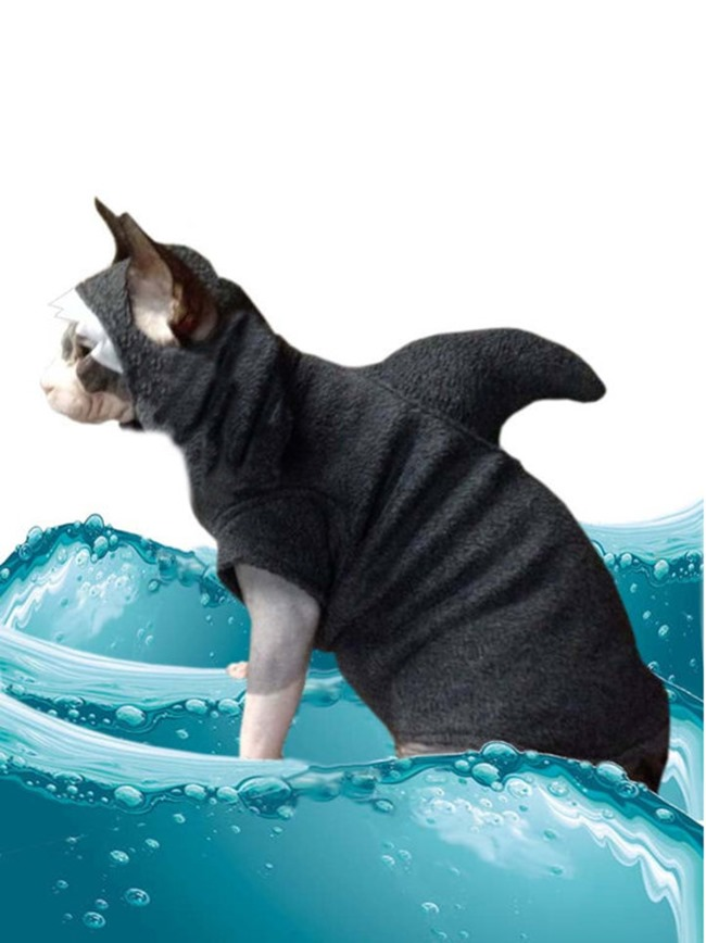 Handmade Pet Costume - Shark