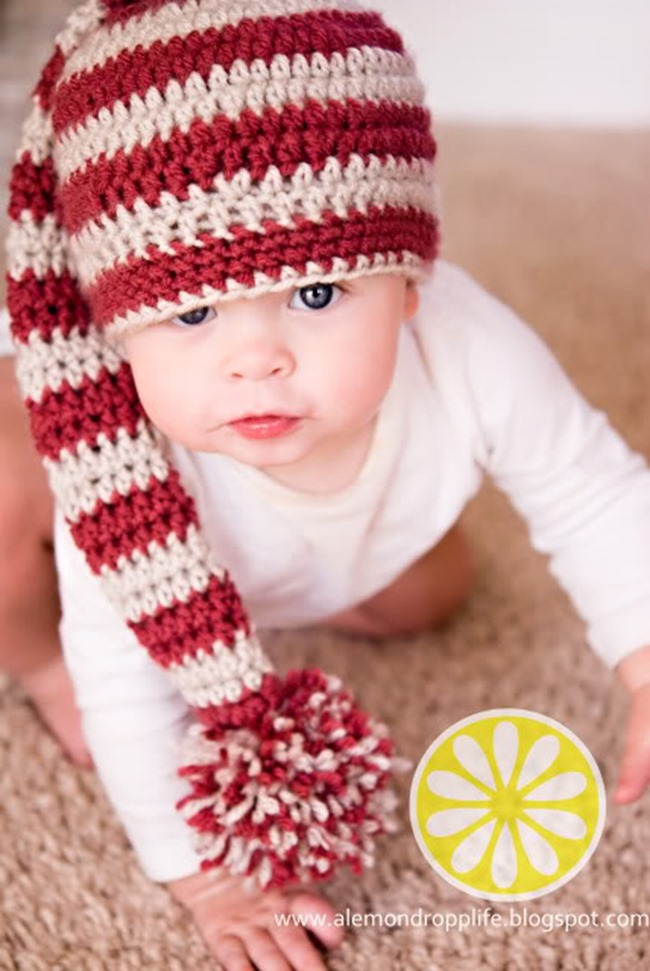 Christmas Crochet Patterns - Free Project Ideas! - Infant Hat