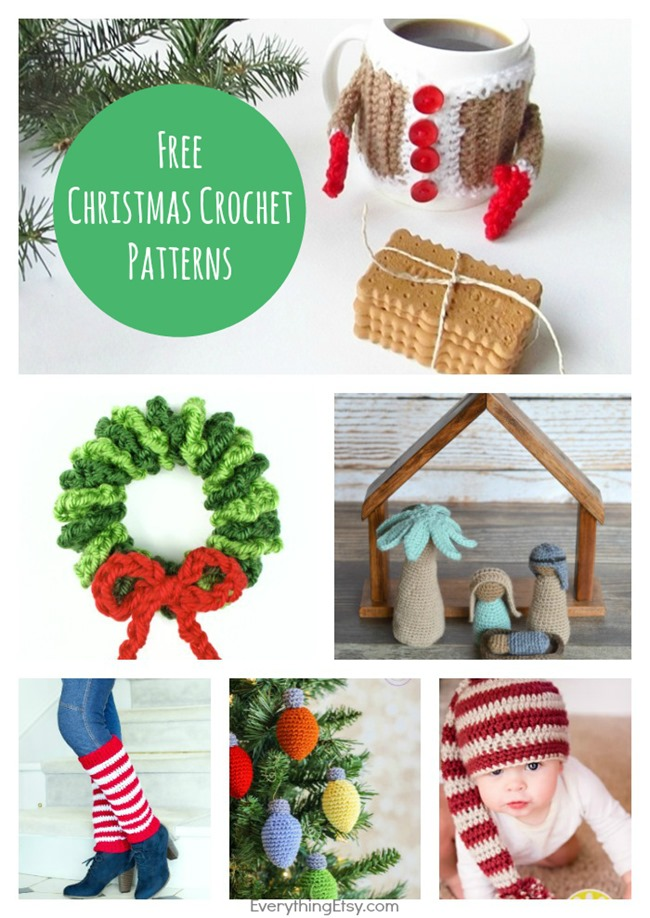 Christmas Crochet Patterns - Free Projects on EverythingEtsy.com