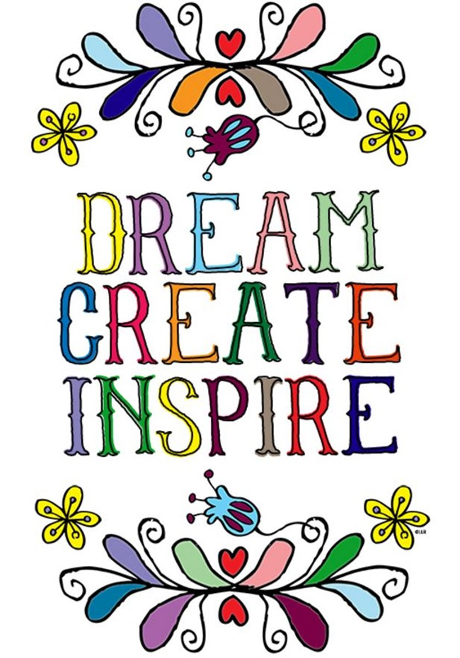 12 Inspiring Quote Coloring Pages for Adults - Dream Create Inspire - Live Laugh Rowe