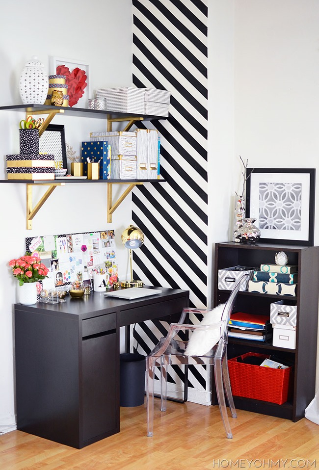 Craft Room Organization & Inspiration - Creative Desk