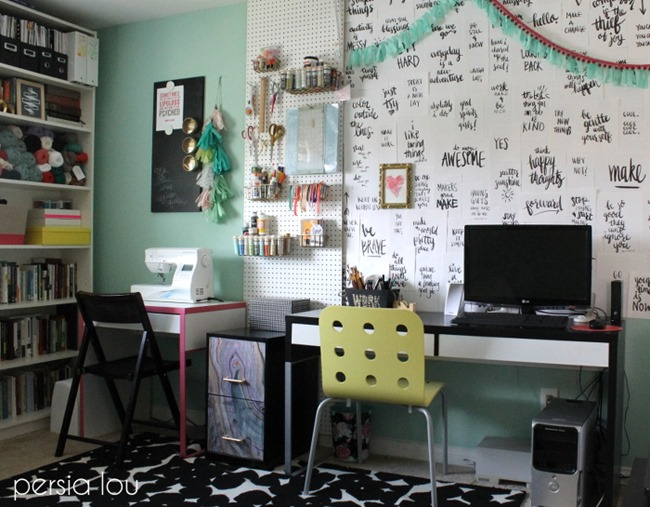 Craft Room Organization & Inspiration - Persia Lou