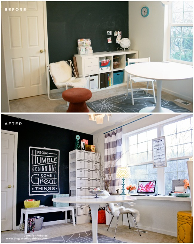 Craft Room Organization & Inspiration - Studio Pebbles