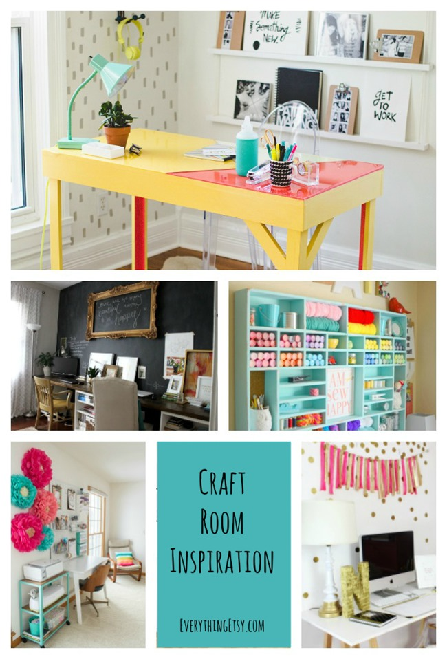 Craft Room Organization and Inspiration on EverythingEtsy.com