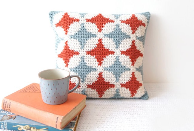 Crochet Patterns on Etsy - Pillow