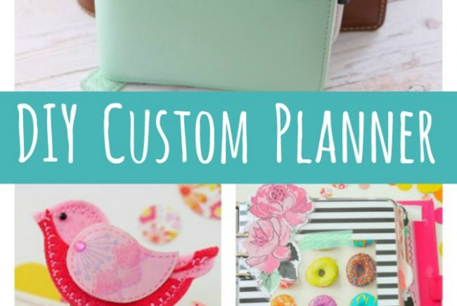 Get Organized with a Custom Planner