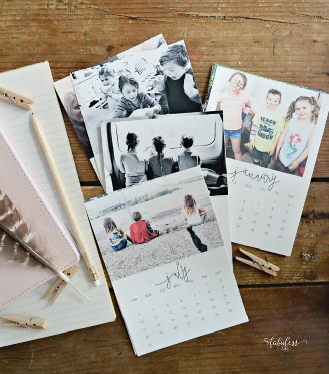 Free 2017 Printable Calendars - Custom Photos