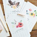 15 Free 2017 Printable Calendars